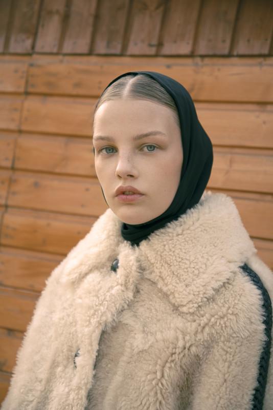 Photo Giulia Albertini Fashion Diletta Ariano. Versace