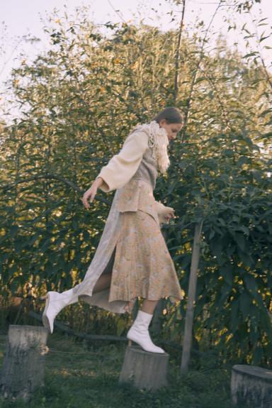 Photo Giulia Albertini Fashion Diletta Ariano. Acne Studios