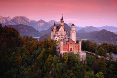 Neuschwanstein Castle of King Ludwig II_by Ondrey Prosicky
