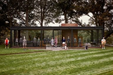 Thom Browne Golf Collection - Glass House Philip Johnson
