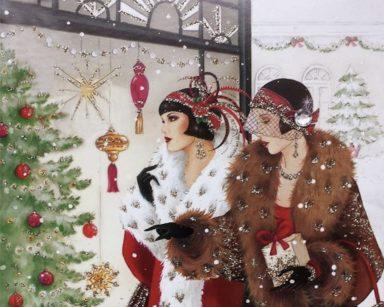 Christmas images Art Deco