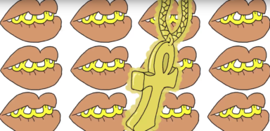 frame from Gucci Mane's NSFW video for All My Children,2016, directed by ASHXANA