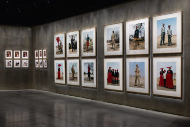 Interview with Charles Fréger, Armani:Silos, Fabula, solo exhibition, interview by Fiammetta Cesana, video and photos by Carmelo Farini