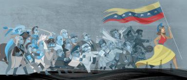 Historieta de Venezuela, Eduardo Sanabria EDO, 2017, Hernandez Art Gallery