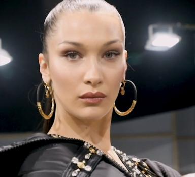 Bella Hadid Versace FW 19/20 menswear collection