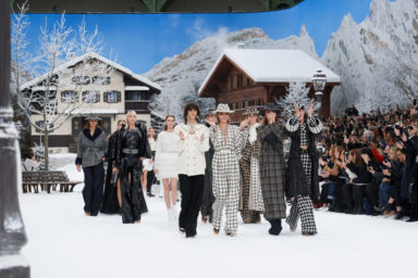 Chanel FW 2019 Collection, Finale, Photo by Olivier Saillant