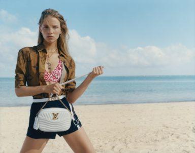 White Camera Bag Louis Vuitton New Wave