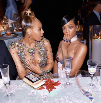 Beyonce and Rihanna cocktail rings