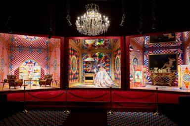 Dolce&Gabbana Smeg Artistic&Traditional exhibition at Metropol, Milano Design Week, Courtesy of Dolce&Gabbana