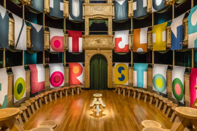 MiuMiu MMatching Colorstool Milano Design Week
