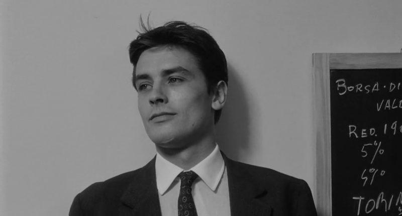 Alain Delon in L'Eclisse (1968) by Michelangelo Antonioni