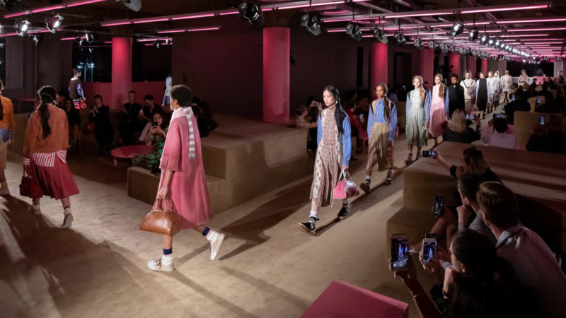 Prada Resort 2020 Collection finale, Courtesy of Prada