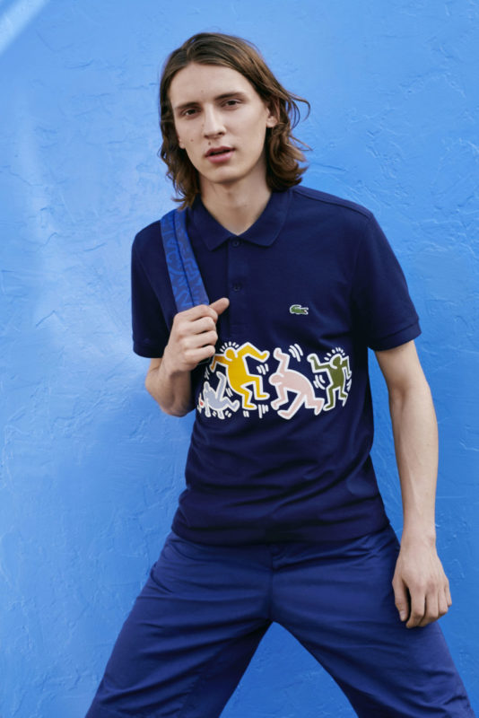 Lacoste x Keith Haring Capsule Collection, Courtesy of Lacoste