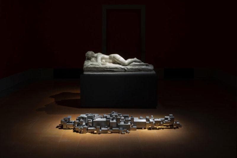 Antony Gormley_SETTLEMENT IV_2018_Essere_Le Gallerie Degli Uffizi_Courtesy GALLERIA CONTINUA