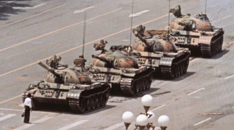 June 5, 1989, Tienanmen Square, Beijing, Tank Man