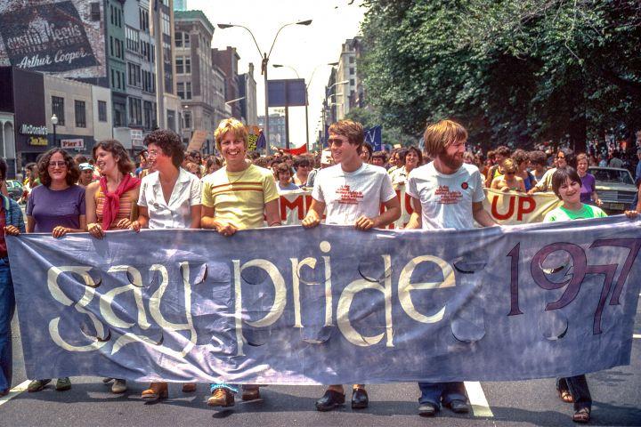 Gay Pride Parade 1977, Photo Spencer Grant