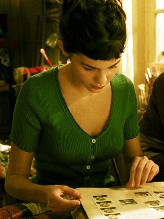 """Audrey Tautou as Amélie Poulain in """"Le Fabuleux Destin d'Amélie Poulain"""" directed by Jean-Pierre Jeunet2"""