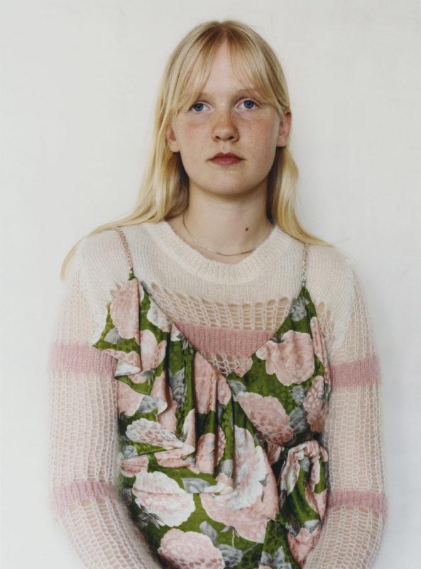 Ida, Miu Miu Portraits, Photo Julie Greve, Fashion Lotta Volkava, Courtesy of Miu Miu