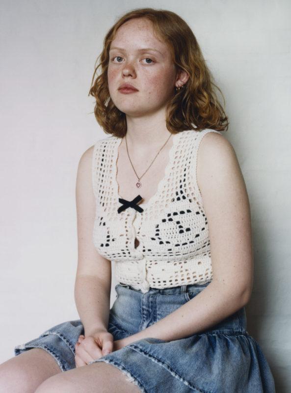 Oline, Miu Miu Portraits, Photo Julie Greve, Fashion Lotta Volkava, Courtesy of Miu Miu