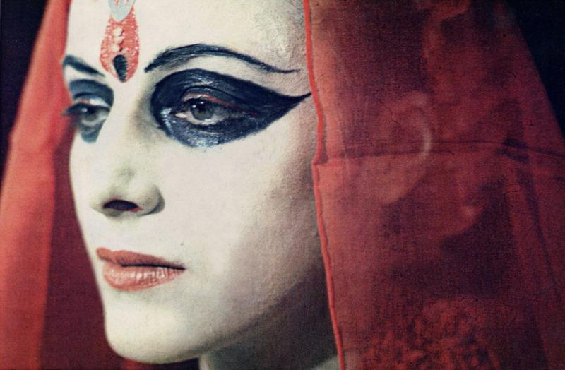 Penny Slinger_Penny as Shakti_1976_Photo by Nik Douglas_Courtesy of the Artist and Richard Saltoun Gallery London