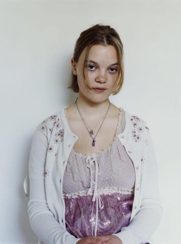 Siri, Miu Miu Portraits, Photo Julie Greve, Fashion Lotta Volkava, Courtesy of Miu Miu