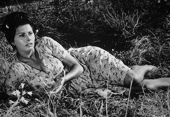 "Sophia Loren as Cesira in ""La Ciociara"" directed by Vittorio De Sica"