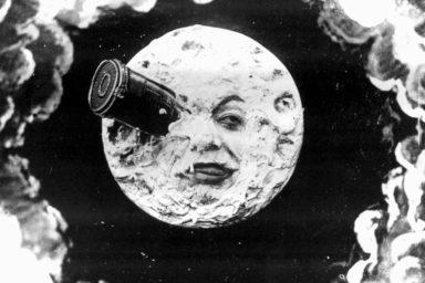 """""""Le Voyage dans la Lune"""", Georges Méliès, 1902"""