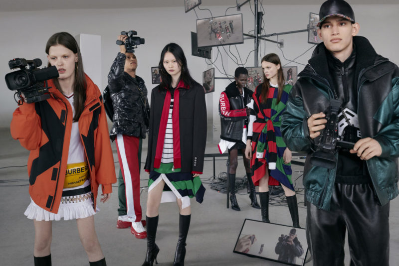Burberry Autumn Winter 2019 campaign, Shot by Nick Knight, Courtesy of Burberry, Nick Knight