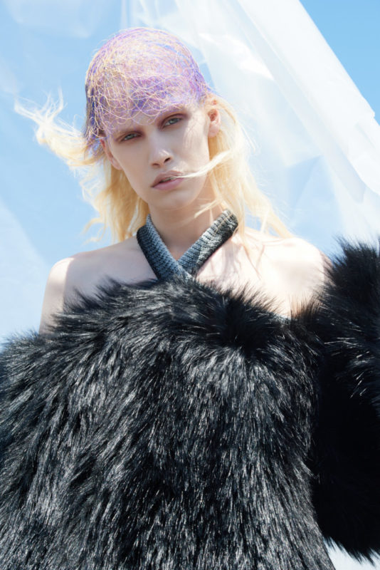 Living on Plan-et B, Photo Alfonso Anton Cornelis, Fashion Francesco Vavallo
