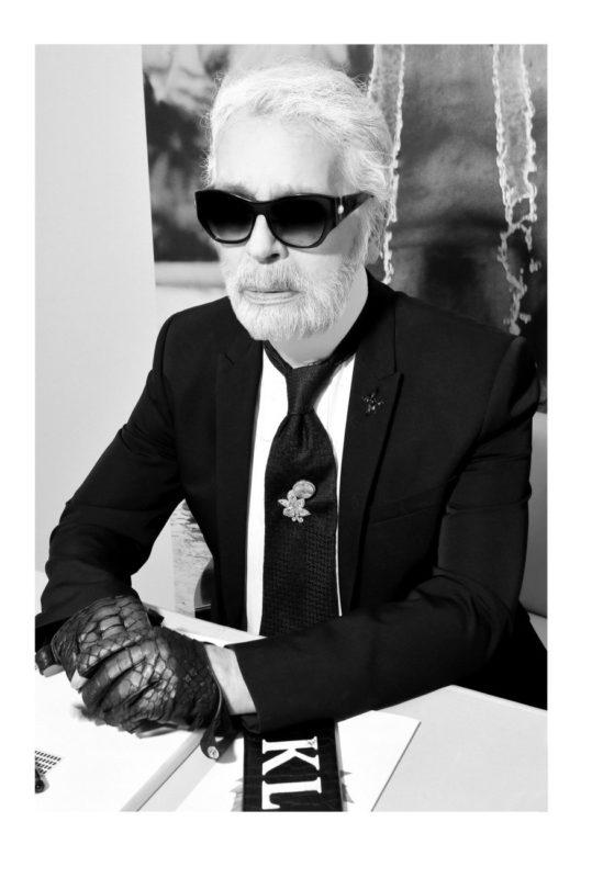 Karl Lagerfeld by Stéphane Feugère 2018©, Courtesy of KARL LAGERFELD