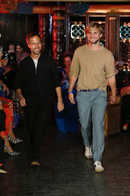 Peter Pilotto and Christopher De Vos, Courtesy of Peter Pilotto