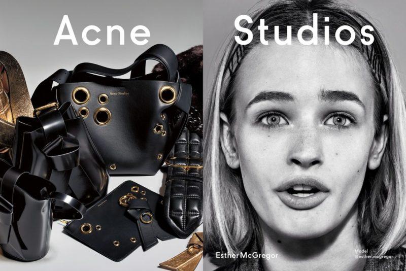 Acne Studios Fall Winter 2019 Campaign, Courtesy of Acne Studios