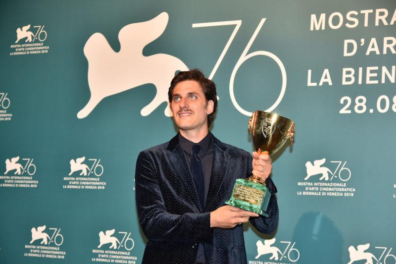 Luca Marinelli won the Coppa Volpi at the 76th Venice Film Festival