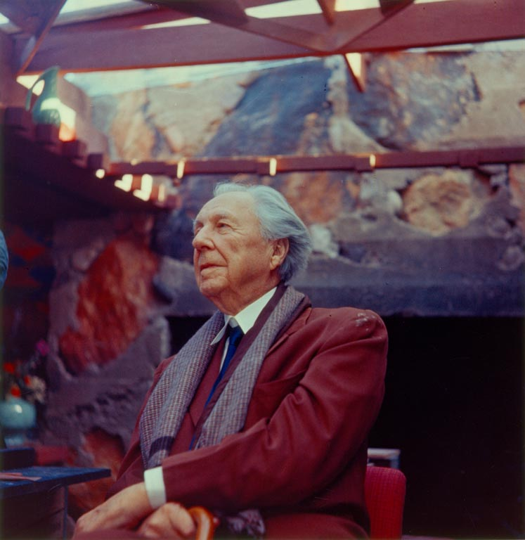 Frank Lloyd Wright, Courtesy of The Frank Lloyd Wright Foundation Archives (The Museum of Modern Art | Avery Architectural & Fine Arts Library, Columbia University, New York). All rights reserved.