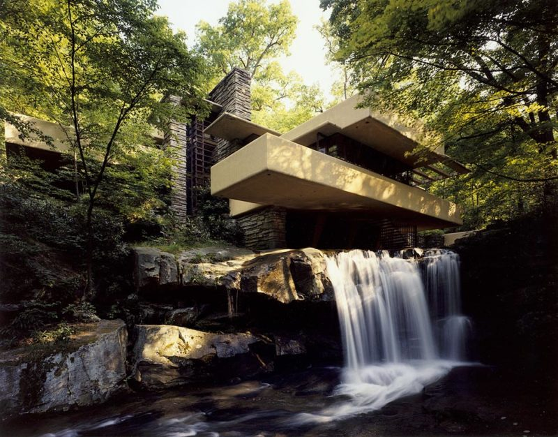 Fallingwater, Courtesy of the Western Pennsylvania Conservancy