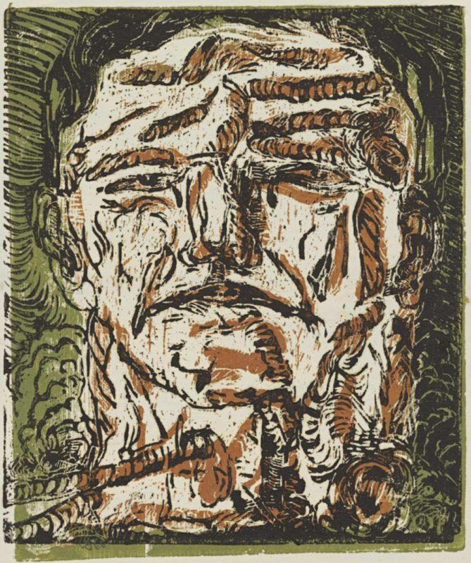 Großer Kopf (Large Head), 1966_Baselitz_Gallerie dell'Accademia_Venice