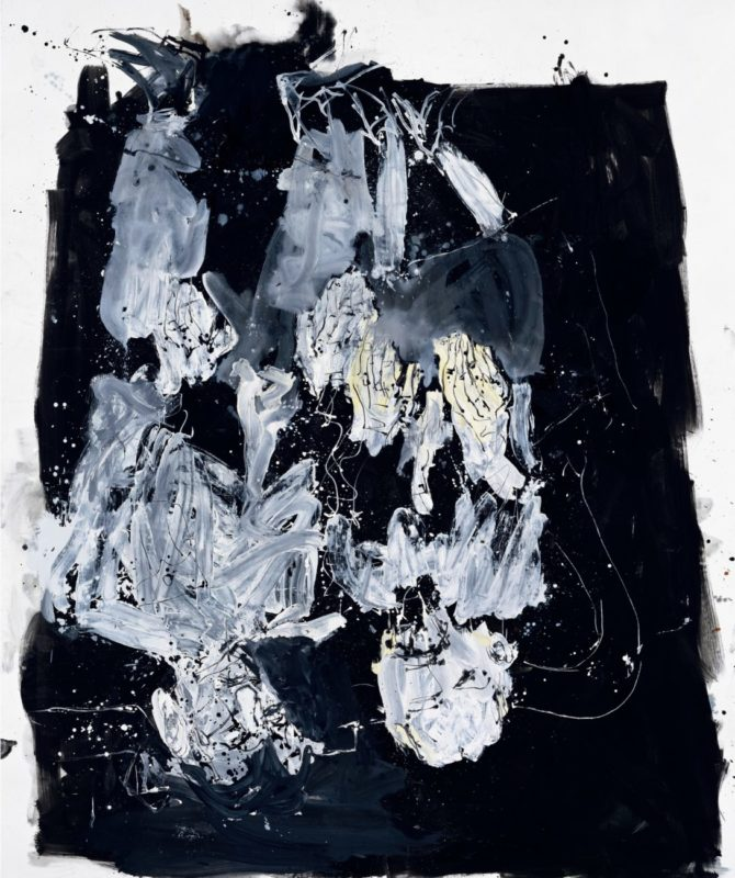Nachtigall erstes Mal (Nightingale First Time), 2008_Baselitz_Gallerie dell'Accademia_Venice