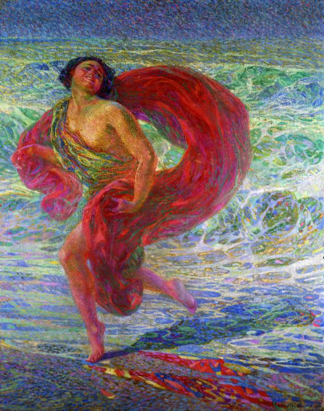Nomellini_Gioia tirrena_1913_Mart_Isadora Duncan