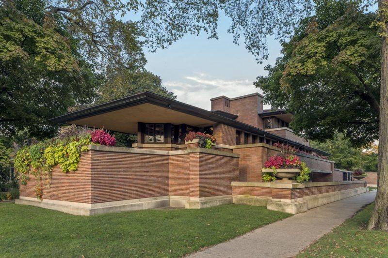 Robie House, Photo by James Caulfield, Courtesy of Frank Lloyd Wright Trust