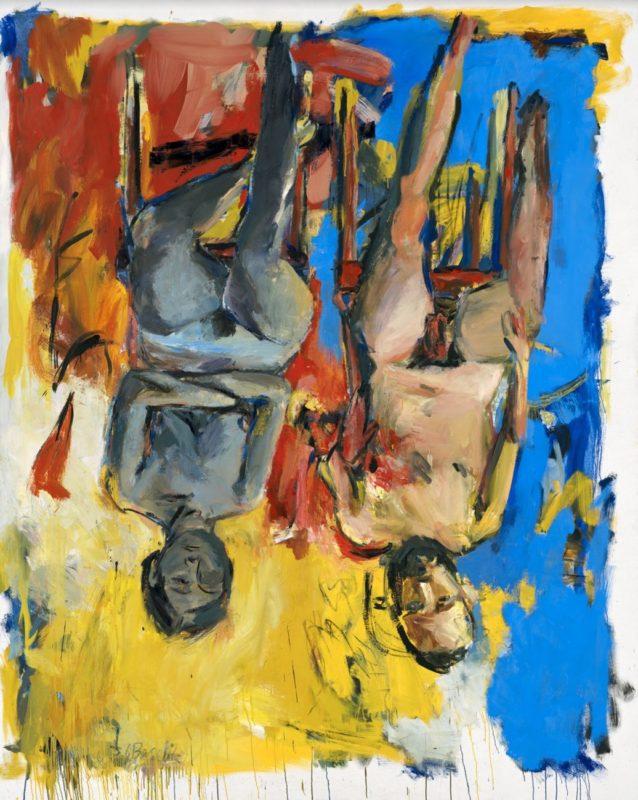 Schlafzimmer (Bedroom), 1975_Baselitz_Gallerie dell'Accademia_Venice