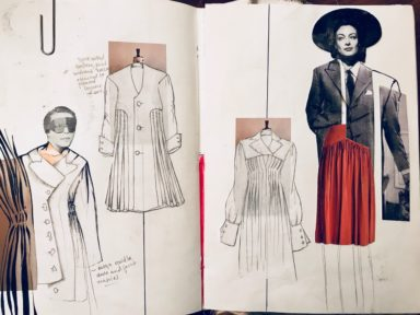 Ducens Domina Collection's sketch, Courtesy of Nynne