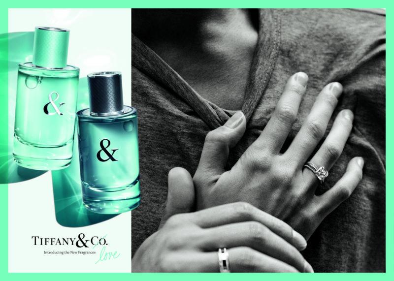 Tiffany & Love fragrances Campaign, Courtesy of Tiffany & Co.