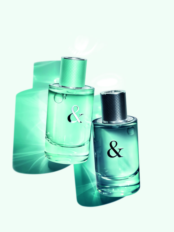 Tiffany & Love fragrances for Him and for Her, Courtesy of Tiffany and Co.