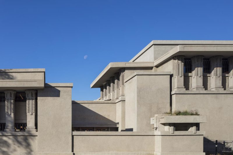 Unity Temple, South Elevation, Photo by Tom Rossiter, Caourtesy of Harboe Architects