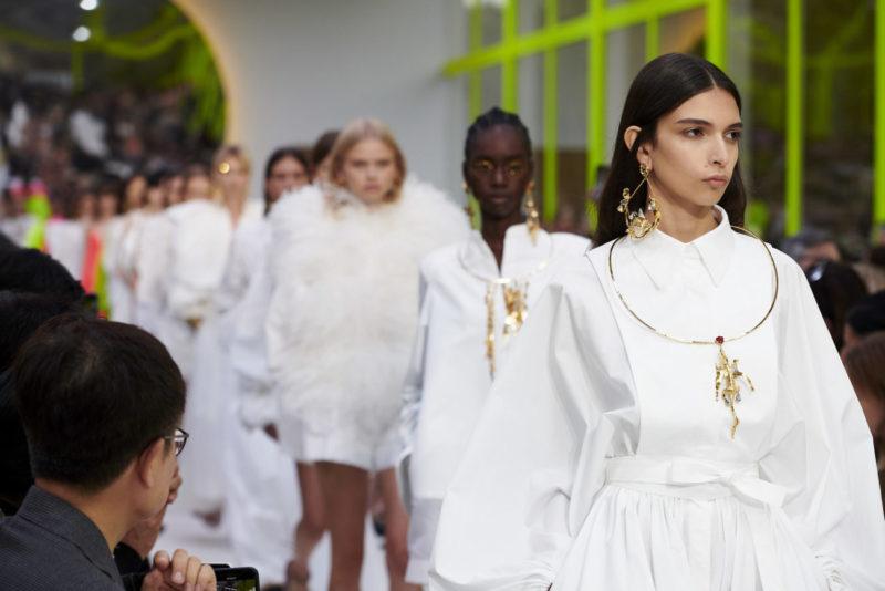 Valentino Spring Summer 2020 Fashion Show Finale, Courtesy of Valentino