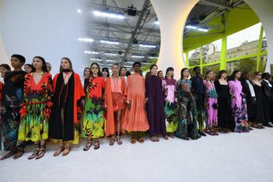 Valentino Spring Summer 2020 fashion show, Courtesy of Valentino