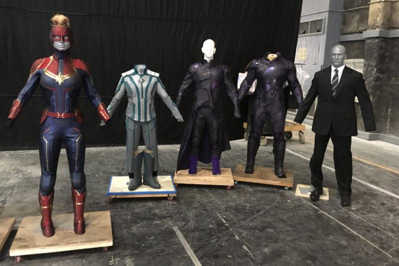Captain Marvel costumes by Sanja Hays