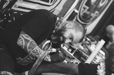Hive Tattoo Art Gallery_Luigi Marchini_tribal tattoo_maori_partnership with Fedez