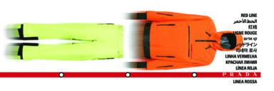 Prada Linea Rossa FW19 campaign, Courtesy of Prada