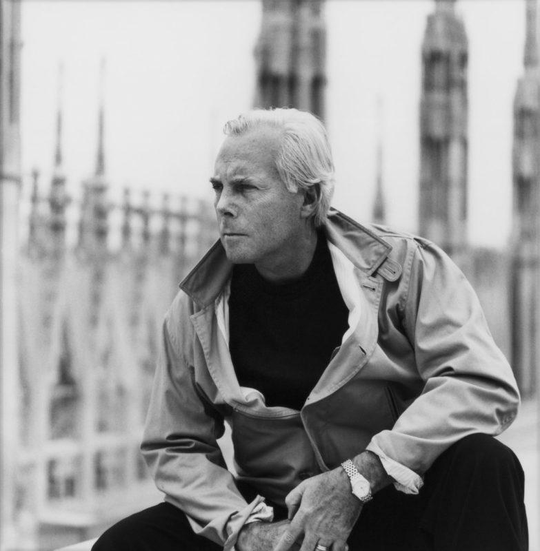 Giorgio Armani portray, Courtesy of Giorgio Armani